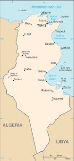 tunisia on africa map tunisia map driving directions and maps