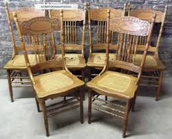 antique wooden dining room chairs sets