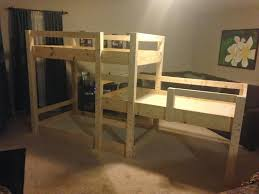 Build Bunk Beds by Somehow It All Came Together The Great Triple Bunk Bed Build