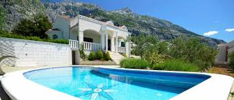 makarska holiday house with pool 5 stars villa damir