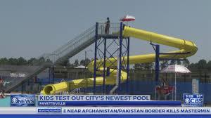 new public swimming pool opens in fayetteville youtube