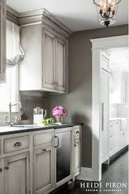 very attractive pictures of gray distressed kitchen cabinets