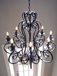 Rod Iron Home Decor Decor Tips Front Entry Door And Entryway Chandelier With Foyer