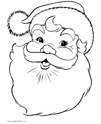 santa claus coloring pages 001