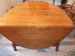 lot detail absolutely beautiful vintage drop leaf solid maple