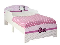 hello kitty toddler bed by hellohome amazon co uk kitchen u0026 home