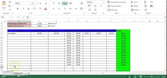 Ebay Excel Template Ebay And Paypal Excel Spreadsheet With Free