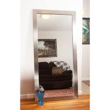 Mirrors For Home Decor Decor Leaning Floor Mirror For Interior Accessories Design Ideas