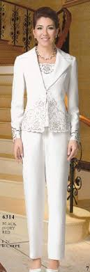 dressy pant suits for weddings pant suits ankle length chiffon lace of the