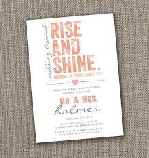 wedding brunch invitations rise and shine wedding brunch invitation instant 100