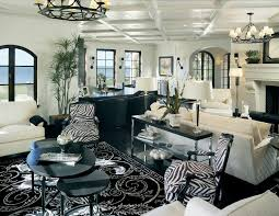 boston zebra print chairs living room traditional with candle
