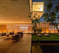 brazilian home design trends open layout house concept by studio mk27