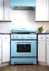 wonderful retro kitchen appliances blue color ideas retro