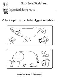 preschool measurement worksheets