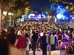 union city halloween carnival clear and cool night expected for weho halloween festival and