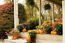 Pictures Of Front Porches Decorated For Fall - front porch decorating ideas for fall u2014 indoor outdoor homes