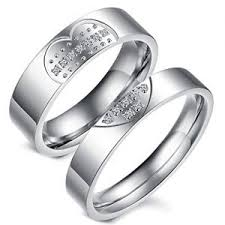 promise ring sets matching promise rings for couples sets for him and