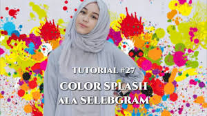 27 tutorial edit background foto color splash ala selebgram