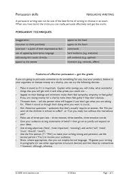 letter of application charity ks3 argument and persuasive writing teachit english 4 preview