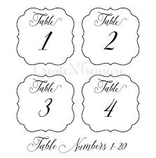wedding table numbers template wedding table numbers svg table numbers template svg cutting file