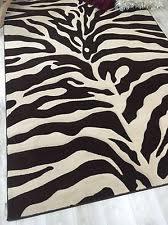 Olefin Rug Olefin Animal Print Rectangle Contemporary Area Rugs Ebay