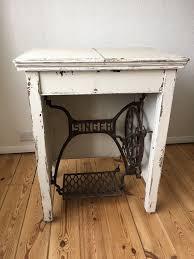Singer Sewing Machine Desk Vintage Singer Sewing Machine Table Desk In Willesden London