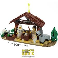 lego nativity scene u2013 one more brick