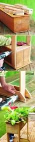 Diy Planter Box by 146 Best Diy Pots Planters U0026 Window Boxes Images On Pinterest