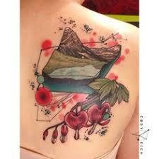 split bleeding heart tattoo free design ideas bleeding heart