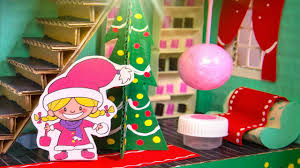 how to decorate home for christmas how to decorate the cardboard house for christmas easy diy craft