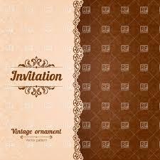 Cover Invitation Card Birthday Invitation Invitation Cards Template Superb