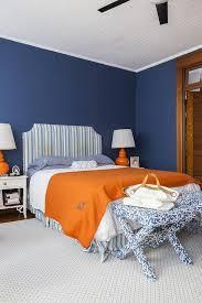 orange and blue bedroom blue and orange bedroom design transitional bedroom