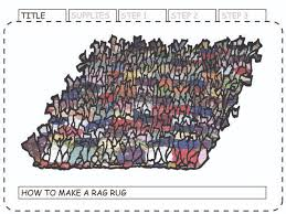 how to make a rag rug 6 steps with pictures