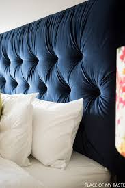 Diy Tufted Headboard Tufted Headboard How To Make It Own Your Own Tutorial