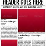 layouts style 1 powerpoint presentation slides news powerpoint