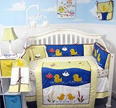Duck Crib Bedding Set Soho Quack Quack Ducks Baby Crib Nursery Bedding Set