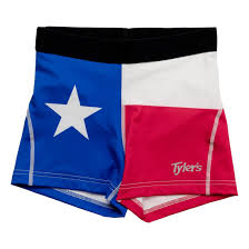 Texaa Flag Women U0027s Texas Flag Racer Shorts Tyler U0027s