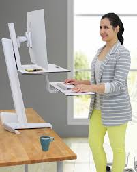 Stand Up At Desk by Sit Stand Desks Snap Supplies