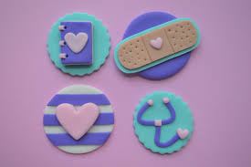 doc mcstuffin cake toppers 12 doc mcstuffins cupcake toppers fondant