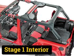 jeep lj interior jeep wrangler jk build by stages quadratec