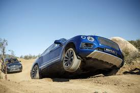 bentayga bentley offroading in the bentley suv that costs 12 hondas the verge