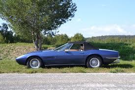 maserati spyder 2003 1970 maserati ghibli spyder 4 7l classic driver market