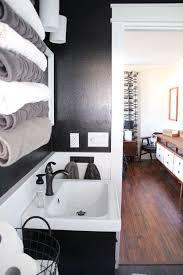 Bathroom With Black Walls 136 Best Bathroom Ideas Images On Pinterest Bathroom Ideas