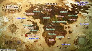 Final Fantasy 6 World Map by Eorzea Continent Maps Ffxiv A Realm Reborn Info Ff14