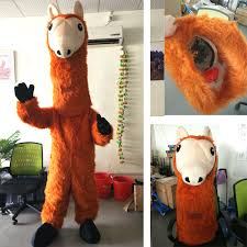 ohlees actual picture brown llama thermo giraffe sport mascot