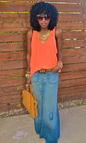 denim maxi skirt style pantry denim maxi skirt
