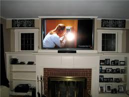 living room inspiring modern fireplace mantel ideas with tv