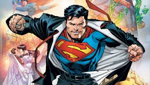 exclusive dc debuts costume superman