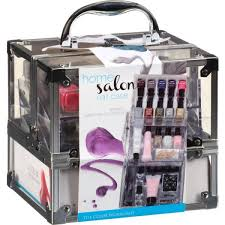 the color workshop home salon manicure collection nail case