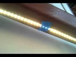 led strip lights for stairs led light strip stair hand rail lighting youtube